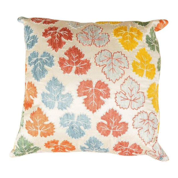 Luxury Embroidered Multicolor Sofa Pillow