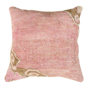Luxury Wool Pink Sofa Pillow