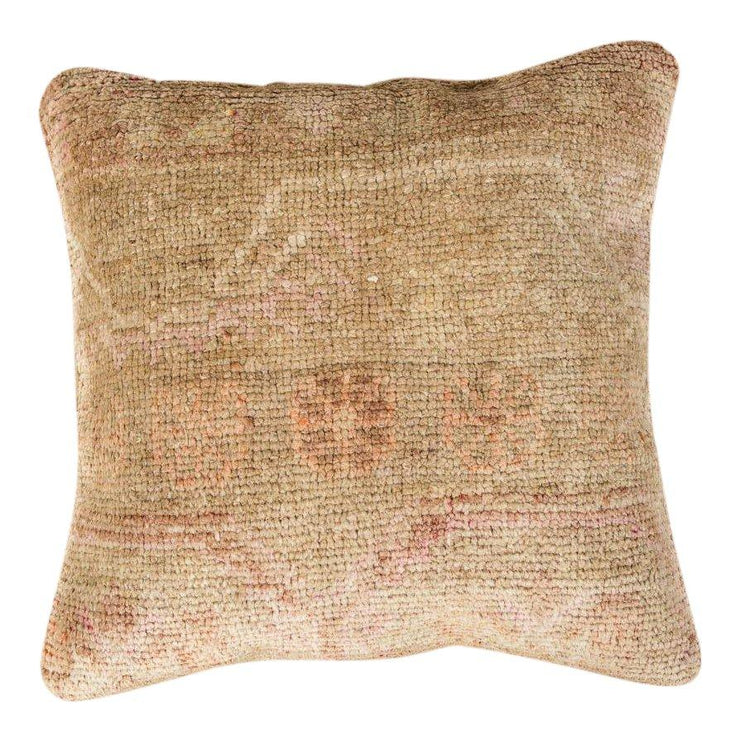 Luxury Wool Beige Sofa Pillow