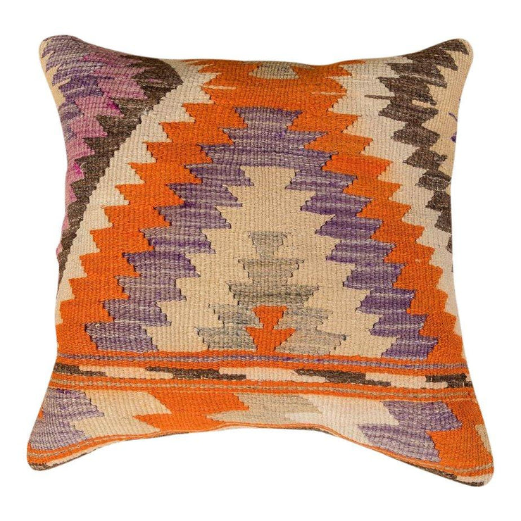 Designer Wool Multicolor Sofa Pillow