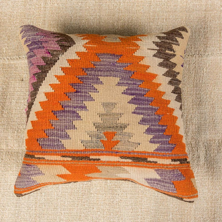 Designer Wool Multicolor Sofa Pillow-Turkish Rugs-Oriental Rugs-Kilim Rugs-Oushak Rugs