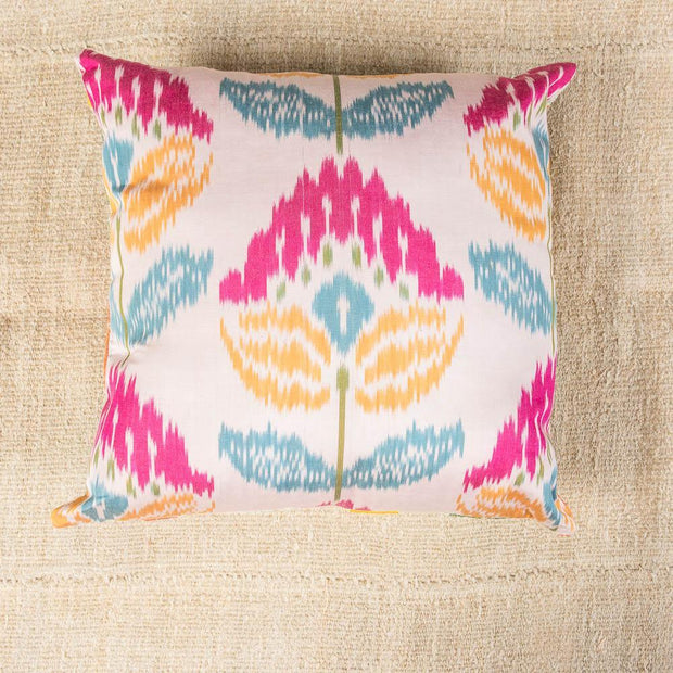 Luxury Embroidered Multicolor Sofa Pillow-Turkish Rugs-Oriental Rugs-Kilim Rugs-Oushak Rugs