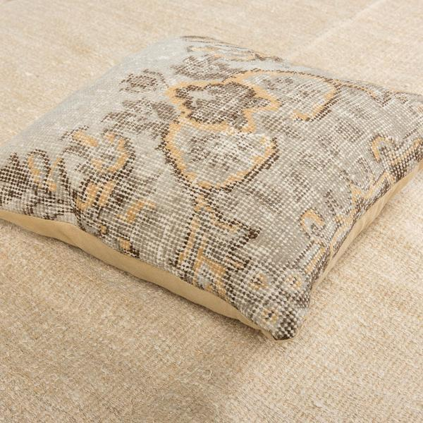 Luxury Wool Green Sofa Pillow-Turkish Rugs-Oriental Rugs-Kilim Rugs-Oushak Rugs