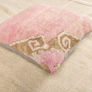 Luxury Wool Pink Sofa Pillow-Turkish Rugs-Oriental Rugs-Kilim Rugs-Oushak Rugs