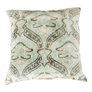 Modern Velvet Green Sofa Pillow