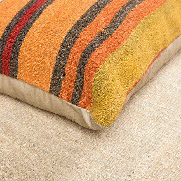 Modern Wool Multicolor Sofa Pillow-Turkish Rugs-Oriental Rugs-Kilim Rugs-Oushak Rugs