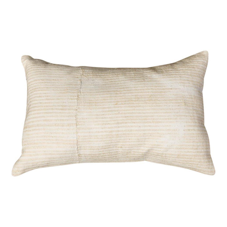 Modern Wool White Sofa Pillow