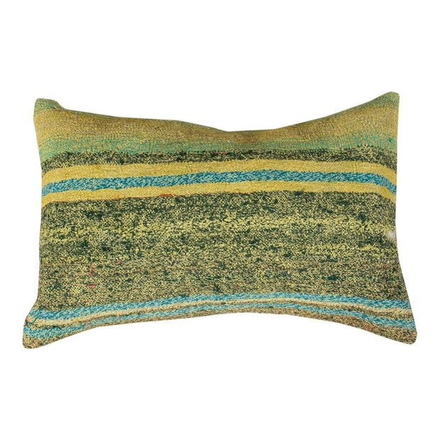 Designer Wool Green Sofa Pillow
