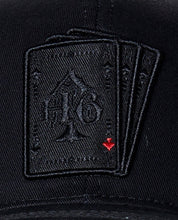 Load image into Gallery viewer, Cap playing cards black