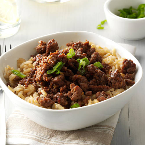 Crockpot Beef And Rice