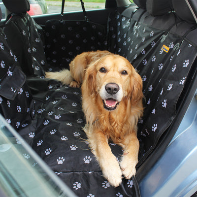 Work here Waterproof Dog Seat Cover, seat covers for dogs - Barkroad