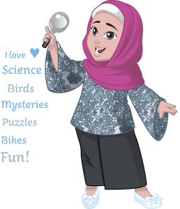 NURA - scientist, mystery book reader, hafizah to-be