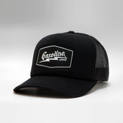 Gasoline Cap Branded Curved Foam Trucker Snapback Cap