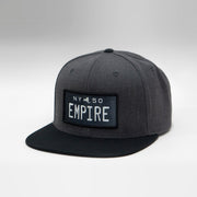 New York Vintage License Plate Flat Brim Snapback Cap