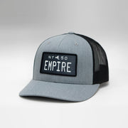 New York Vintage License Plate Curved Brim Snapback Cap