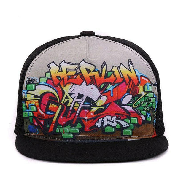 Berlin Graffiti Trucker Cap