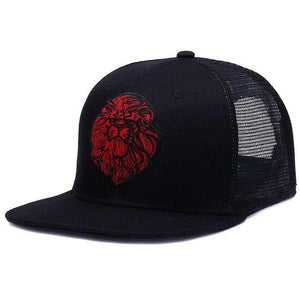 Lion Head Trucker Cap