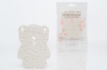 Load image into Gallery viewer, Teddy Bear Bath Sponge - Lovekins Asia