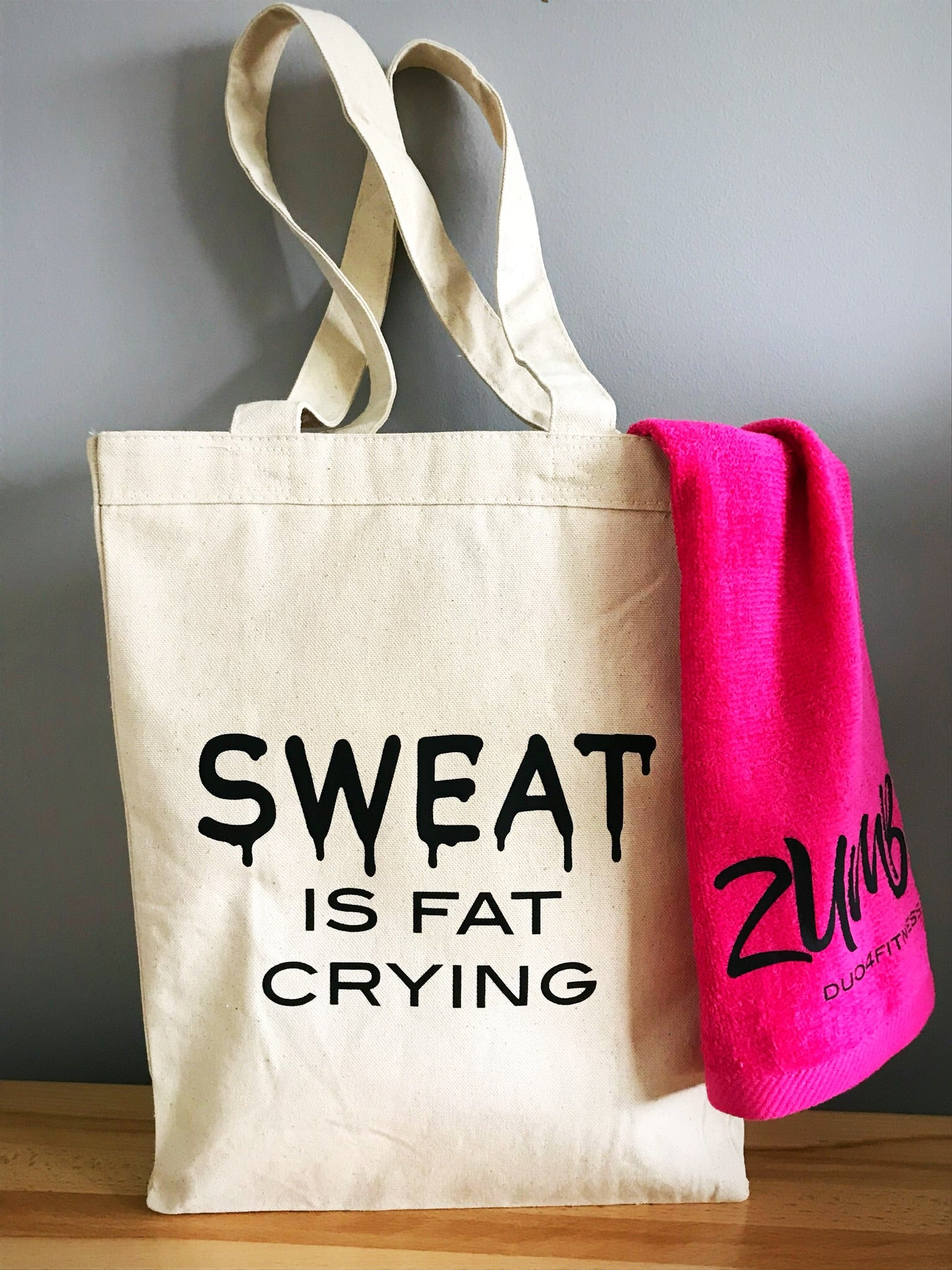 Zumba Tote Bag, Gym Bag