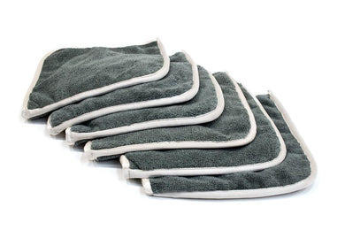 [Interior Flip] Microfiber Dash, Plastic, Leather and Upholstery Towel (8 in. x 8 in) 6 pack