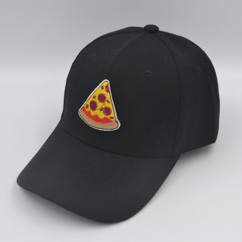 Pizza Embroidered Hat