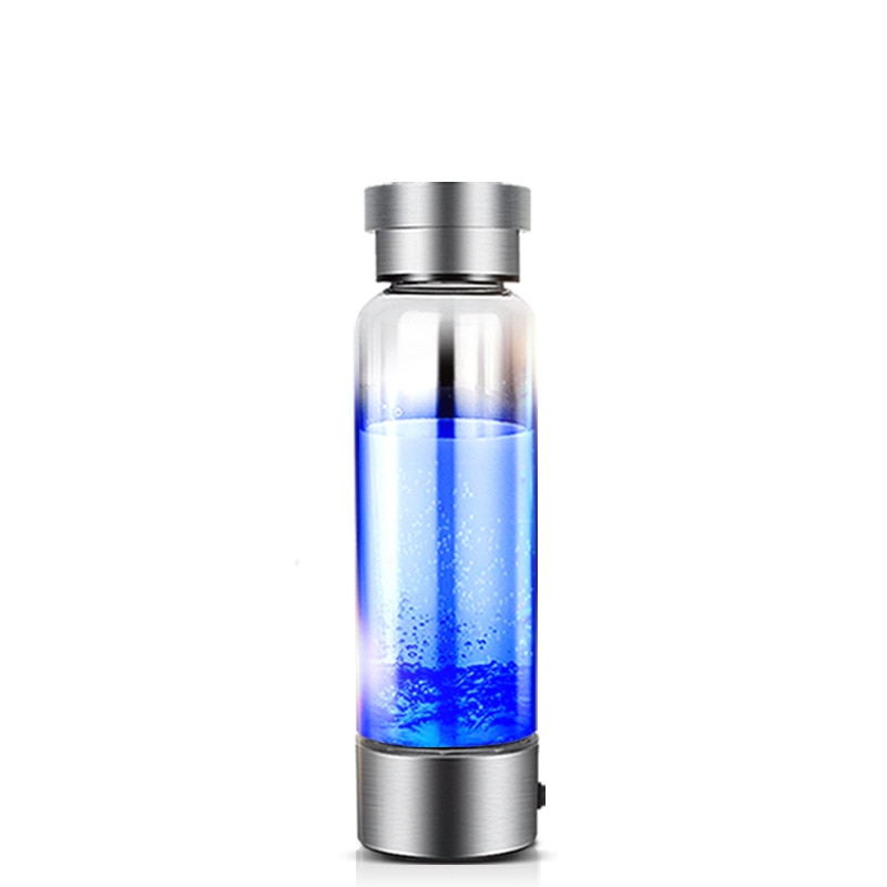350ml Hydrogen Rich Water Generator | Alkaline Energy Glass Bottle