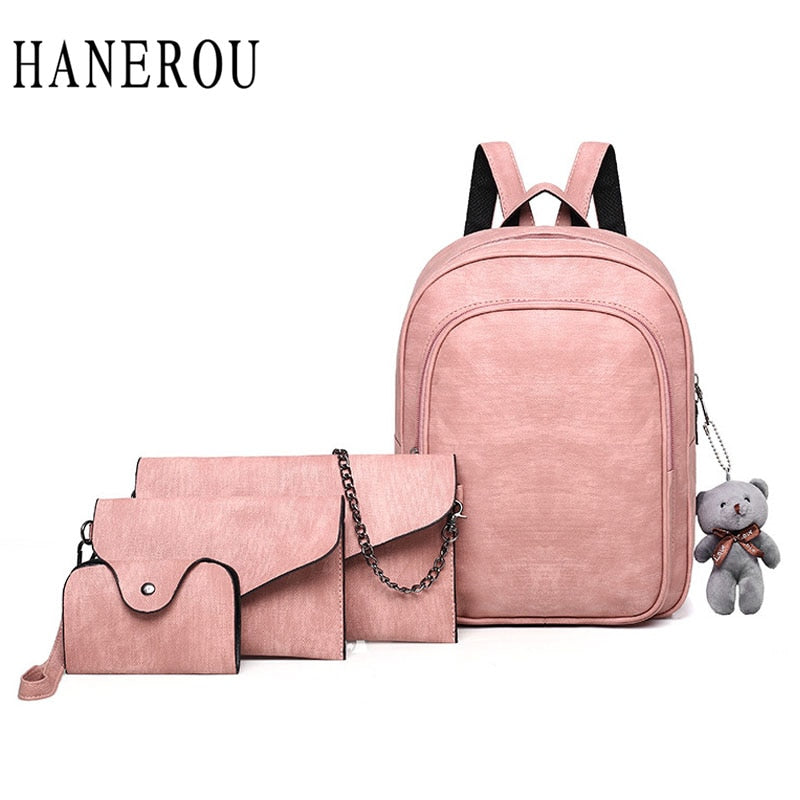 Hanerou Four Piece Bag Set