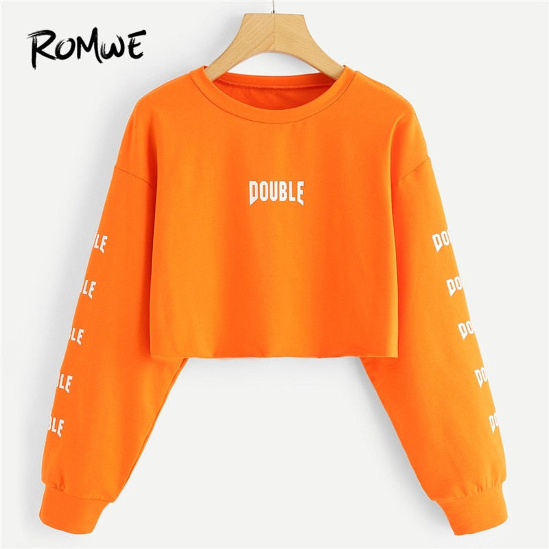 Double Cropped Sweatshirt