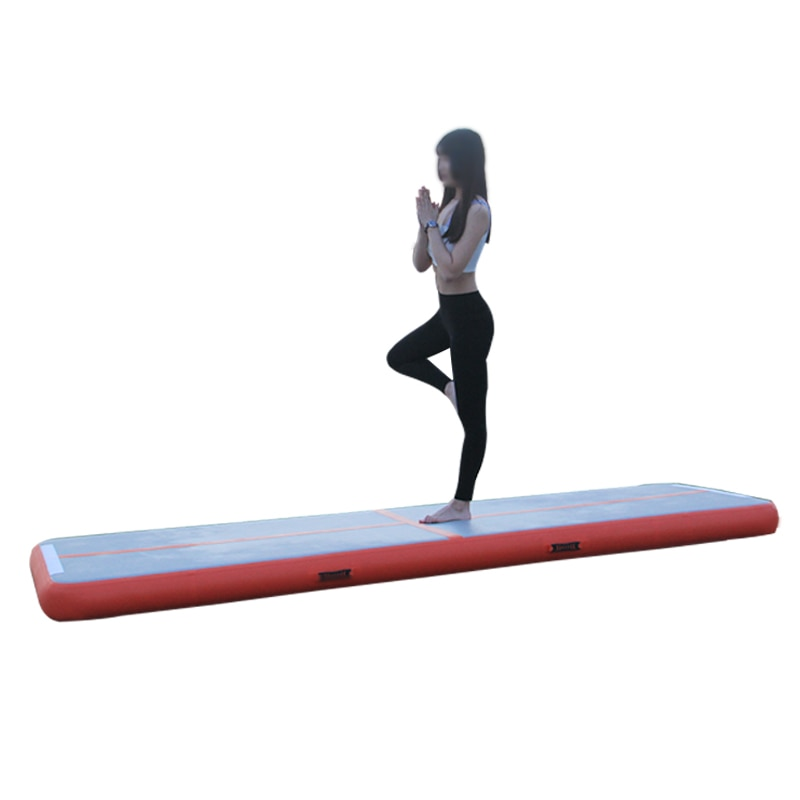 Inflatable Gymnastics Mat with Tumbling Velcro
