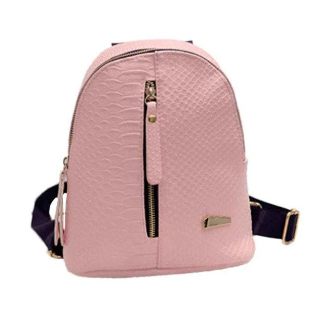 Ulrica Leather Mini Backpack