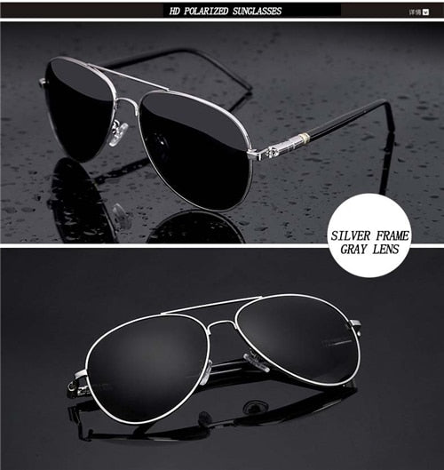 Aviation Metal Frame Sunglasses