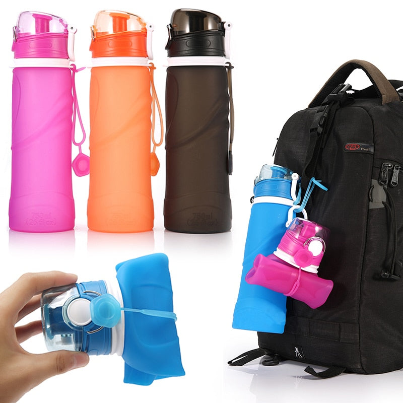 750ML Foldable Water Bottle