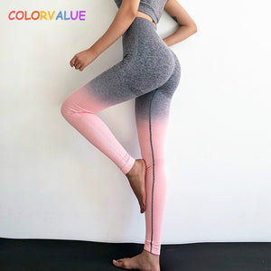 Colorvalue Ombre Tummy Control Leggings