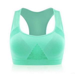 Padded Wire Free Sports Bra