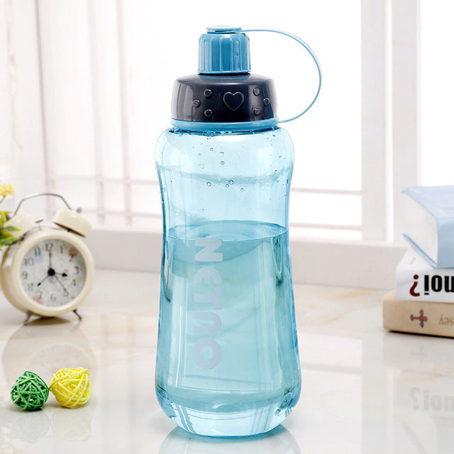 Portable 600ml Water Bottle