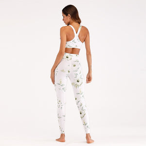 Flower Print Running Set