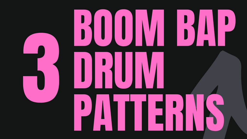 Three Boom Bap Drum Patterns [Audio] [Download]