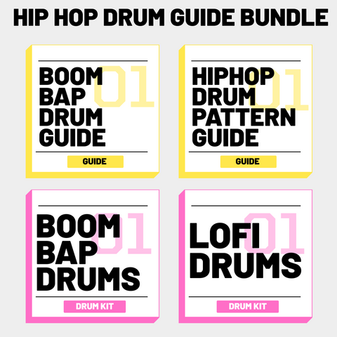 Hip Hop Drum Guide Bundle