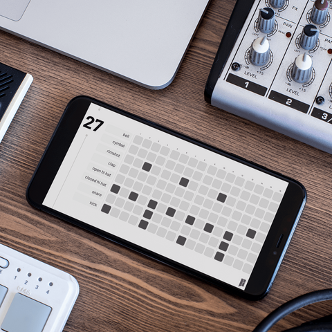 HipHop Drum Pattern Guide On Mobile