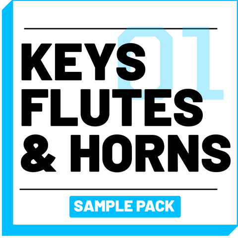 Keys, Flutes, & Horns Sample Pack [Volume 01] - RUDEMUZIK