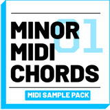 Minor Midi Chord Progressions Sample Pack [Volume 01] - RUDEMUZIK