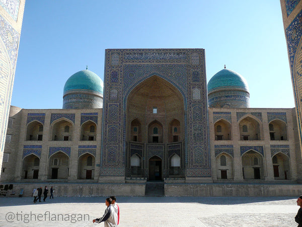 The Kalon Mosque in Bukhara, Uzbekistan
