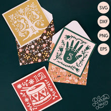 12 Days of Christmas SVG Cut File Bundle
