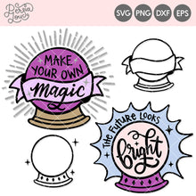 Magical Crystal Ball Cut File Mini Bundle