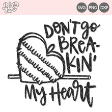 Don't Go Breaking My Heart Piñata Cut File