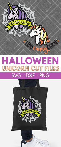 Halloween Unicorn Cut Files