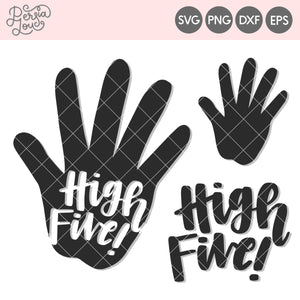 High Five Cut File