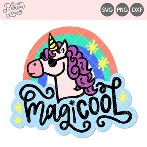 Magi-Cool Unicorn Cut File