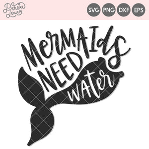 Mermaids Need Water Cut File