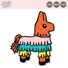 Cute Piñata SVG Cut File
